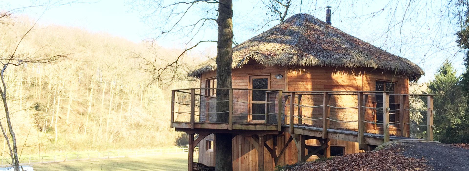 Maison en bois en Normandie