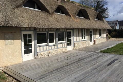 Terrasse bois en Normandie