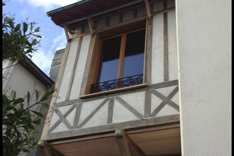 Colombage en Bow Window